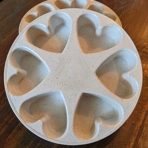 vintage Heart shape baking mold